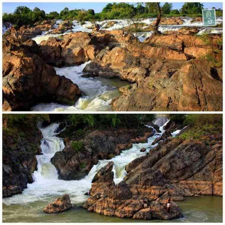 Waterfalls, 4000 Islands, Laos,