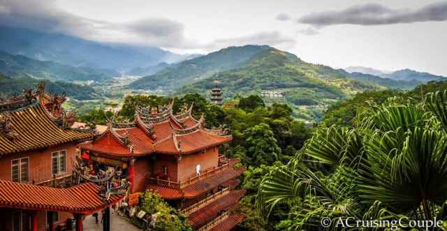 Futian Temple on Lion's Head Mountain