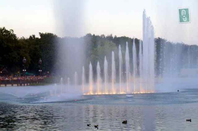 The final Fountain Show in Efteling