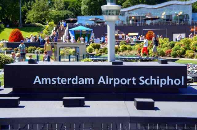 Miniature Schiphol Airport in Madurodam