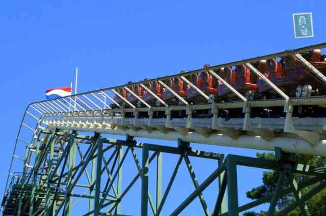 Rollercoaster in Efteling