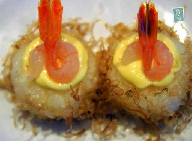 Shrimp and mayo Futomaki