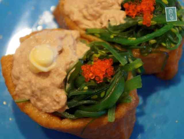 Tuna and mayo sushi