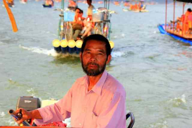 Boat man in Guilin