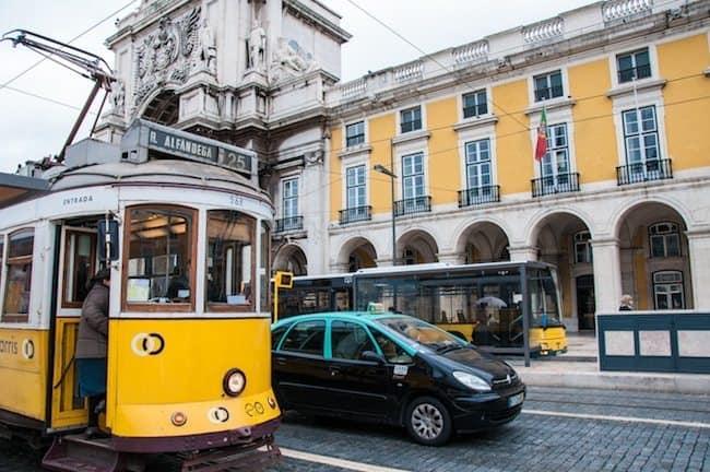 Transportation in Downtown Lisbon
