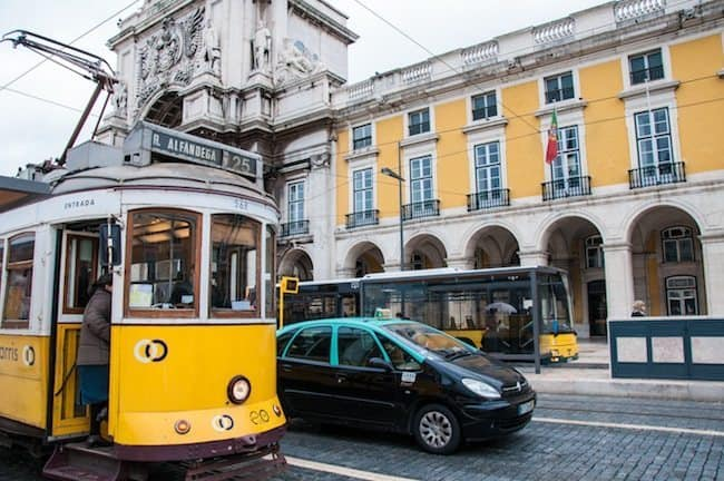 Transportation in Downtown Lisbon