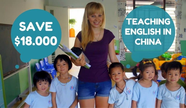 How To Save Up To $18.000 A Year Teaching English In China While ...