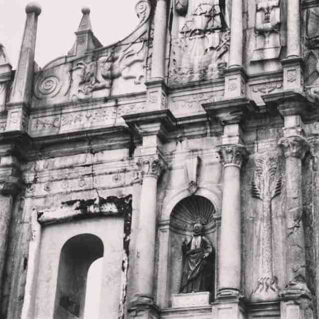 Ruins of St.Paul