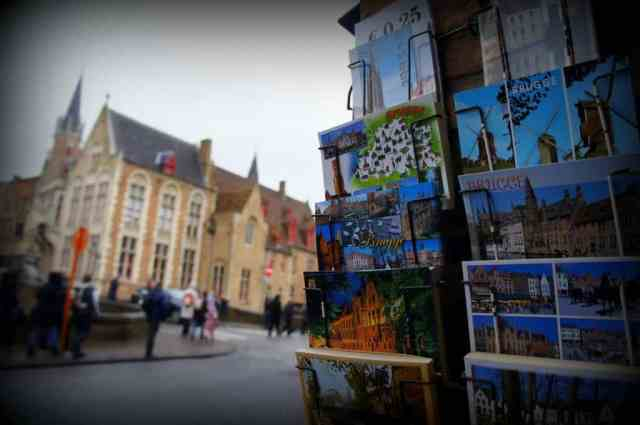Local postcards from Bruges