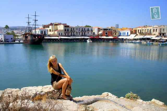 Exploring the Venetian Harbour in Rethymno