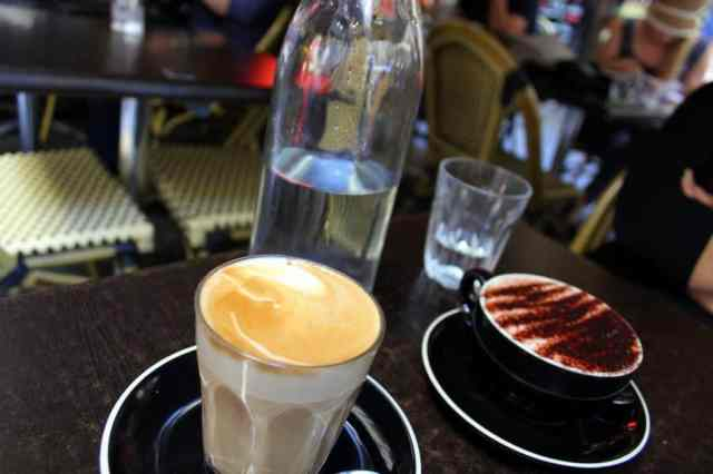 A cup of Australian coffee