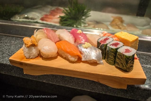 Japanese sushi
