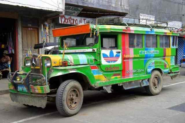 Jeepney in Banaue