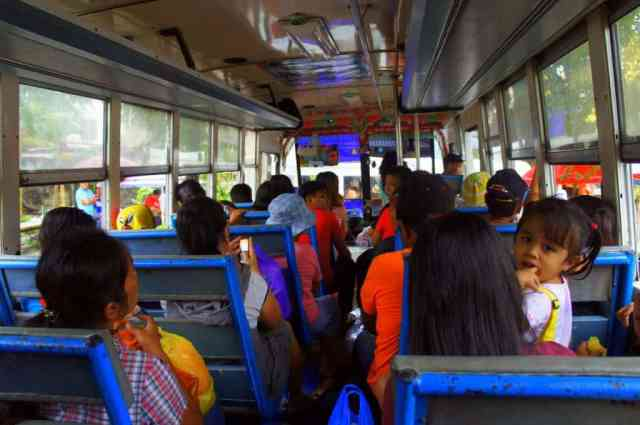 Local bus to Banaue