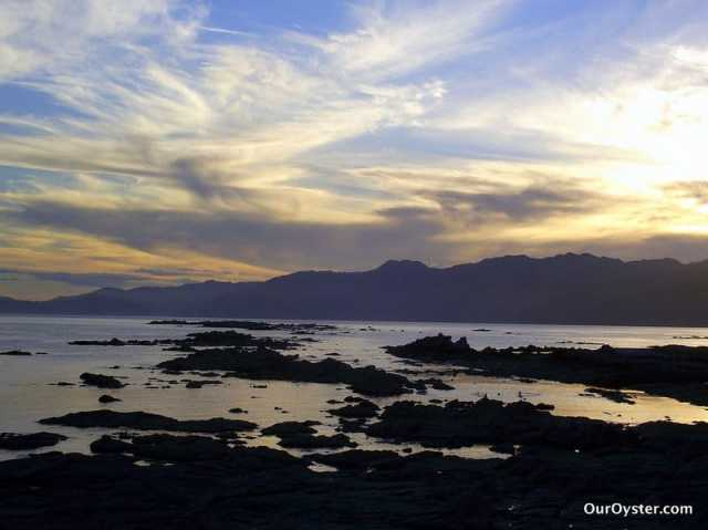 kaikoura sunset
