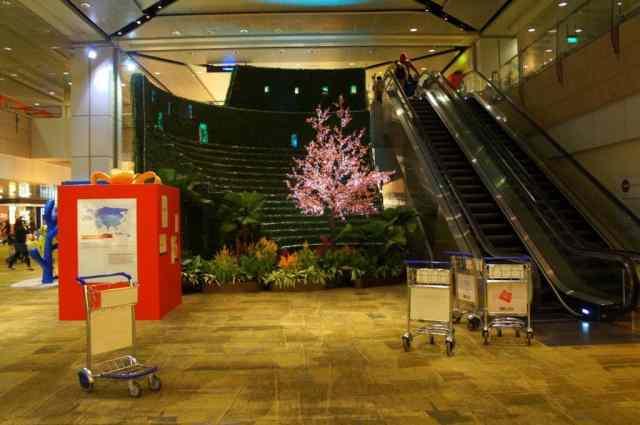 Impressive design of Singapore Airport
