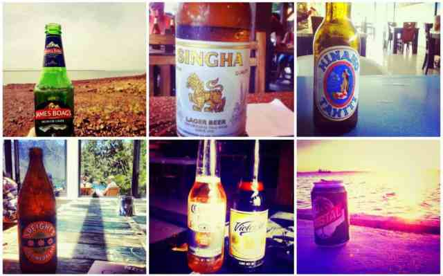 Beers from Thailand, New Zealand, Asia
