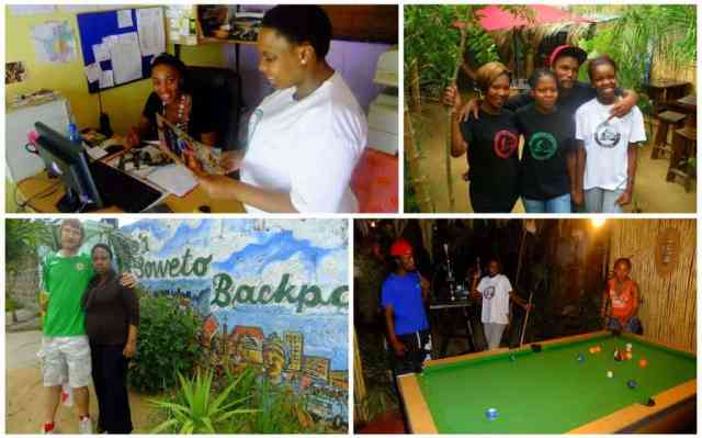 Lebo's Backpackers, Soweto, Gauteng, South Africa.