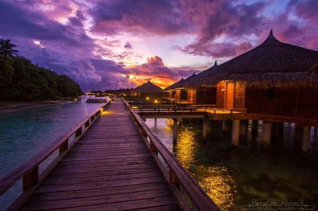 maldives-sunrise