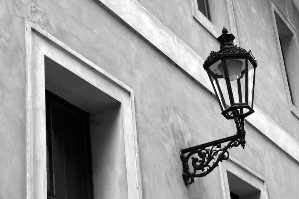 Prague in White and Black