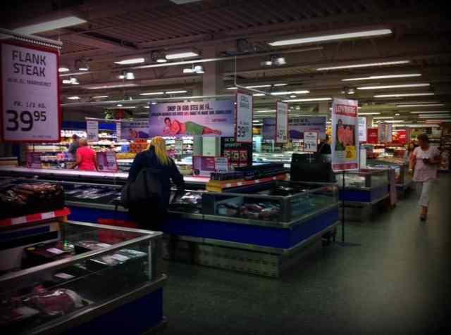 Danish Supermarket