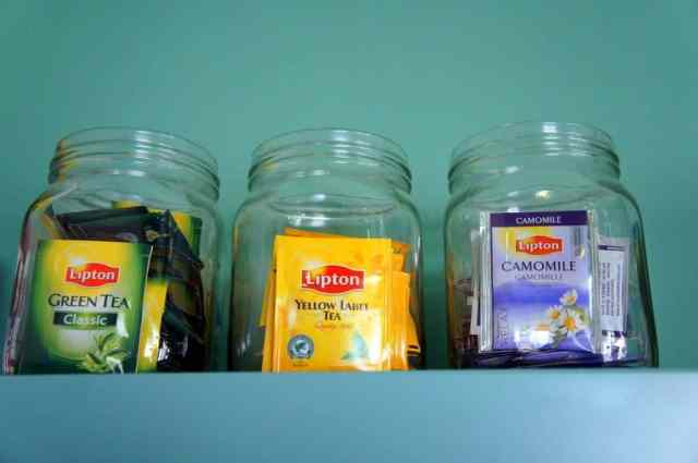 Teas at Goodmorning Hostel Lisbon