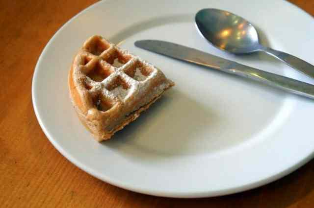 Irresistible waffles