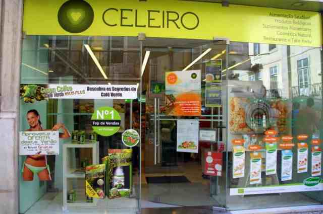 Celeiro organic store, Lisbon