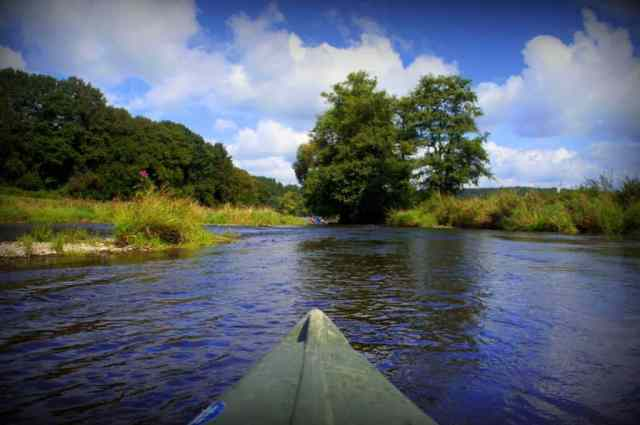 Canoeing in the Ardennes