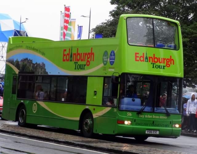 Edinburgh tour