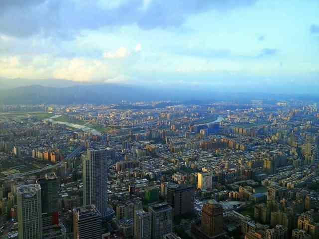 Taiwan Taipei 101 Skyscraper Top2