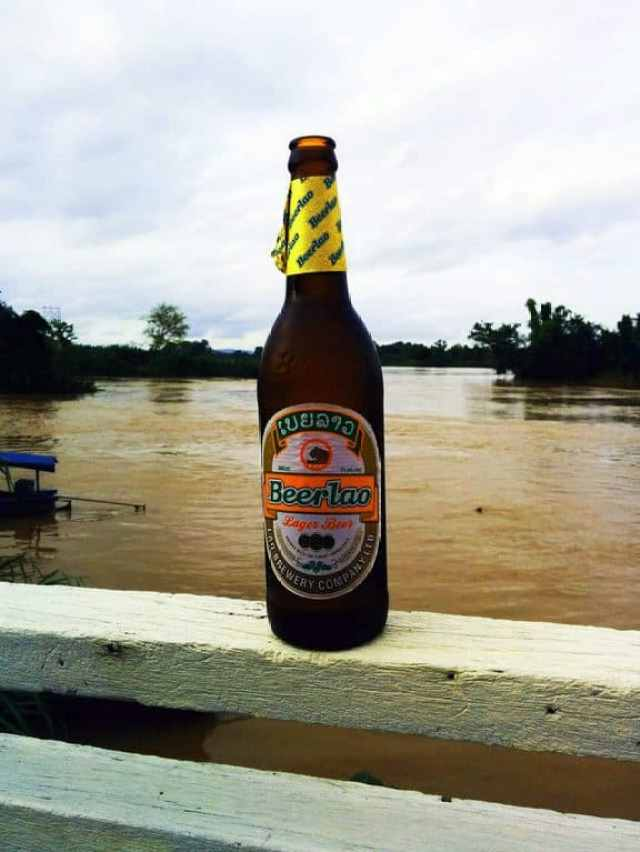 Beer-Lao-Next-to-River
