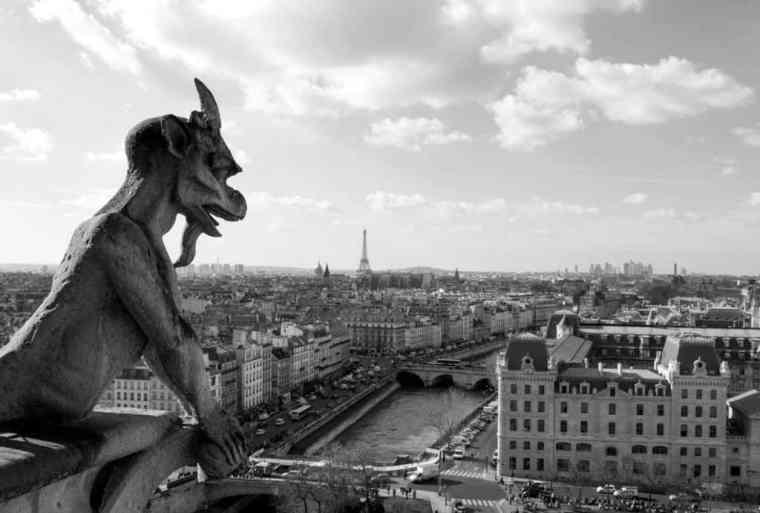 View from the Cathédrale Notre Dame de Paris