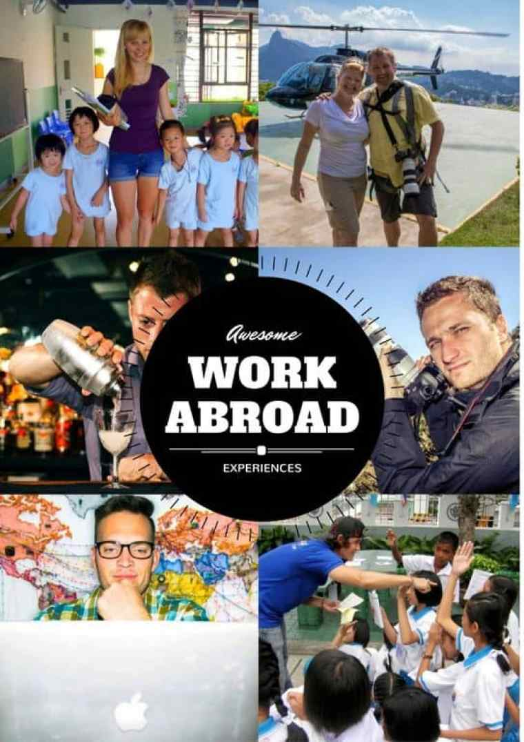 work abroad experiences cover