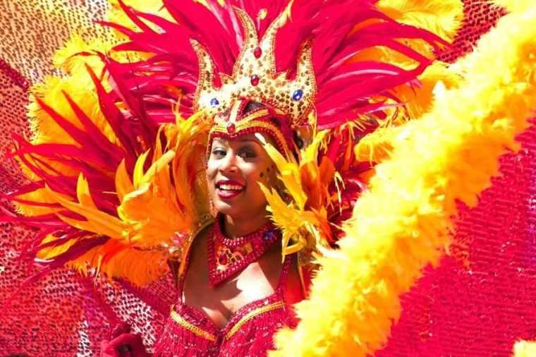 carnival-woman-costume-orange