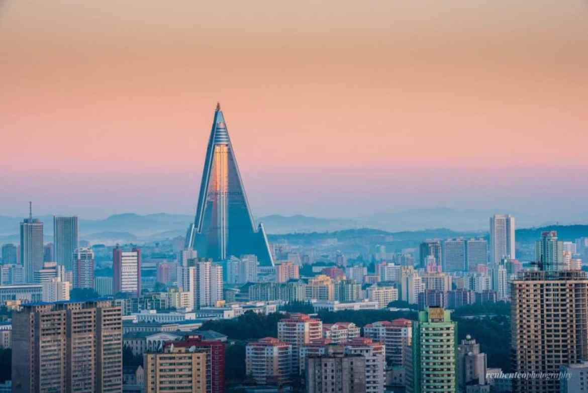 North Korea view