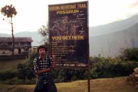 Raushan Trek Route