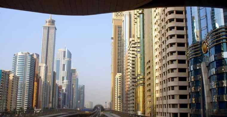 City's skyline.