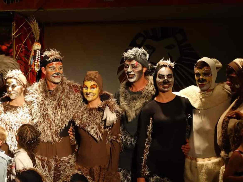Lion King show