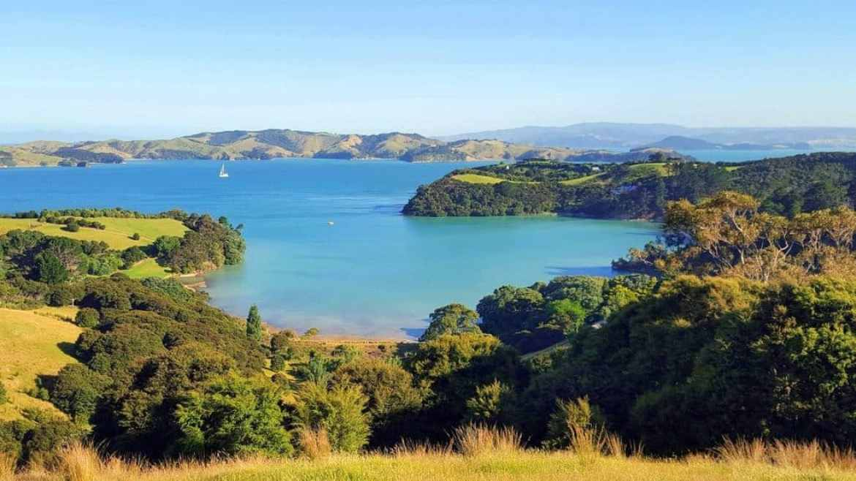 New Zealand Island