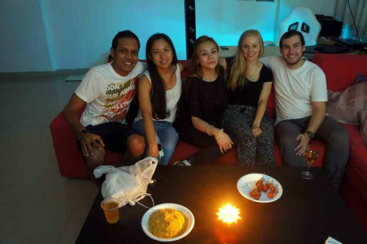 great dubai couchsurfing experience
