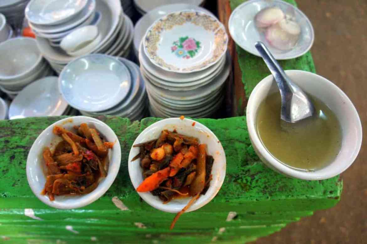 food in bagan