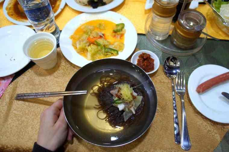 North Korean cold noodles