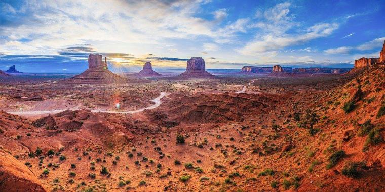 Monument Valley Landscape Nature