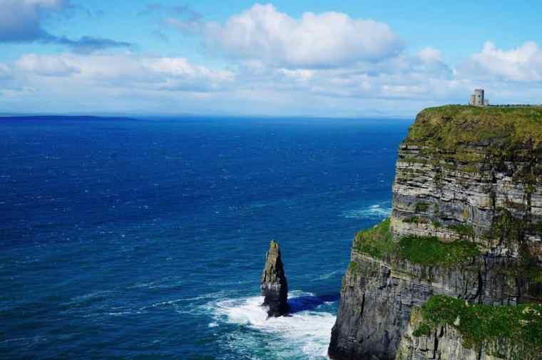 Coastline in Ireland