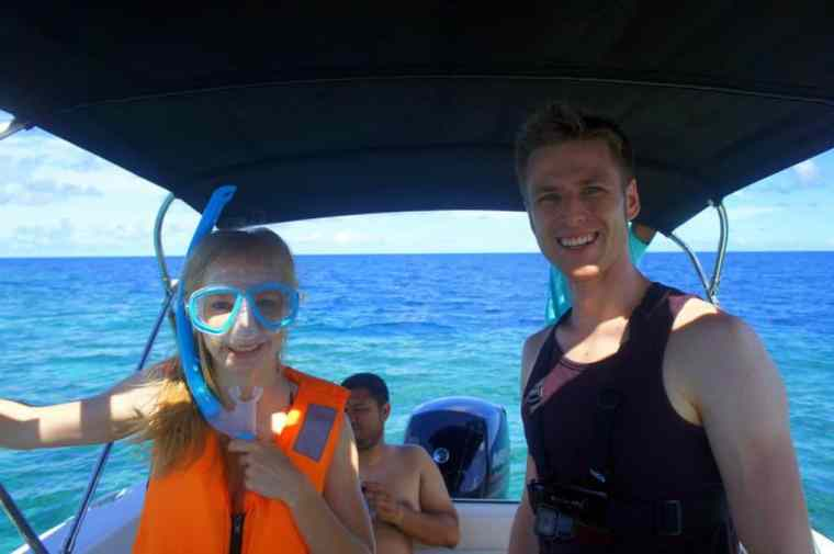 Going snorkelling