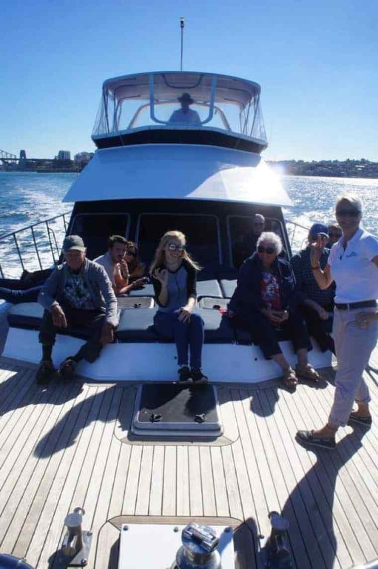 Onboard of Sydney Sensational Cruise