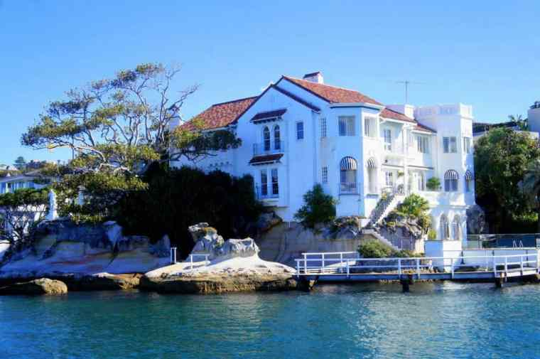 The Sydney Harbour Houses