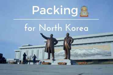 Packing for North Korea
