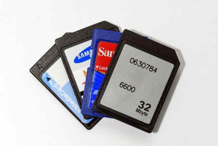 Extra SD cards